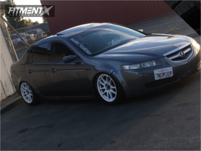 2005 Acura TL - 17x9 17mm - Drag Dr31 - Coilovers - 225/45R17