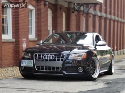 2012 Audi S5 - 19x10.5 22mm - ESR Sr05 - Coilovers - 255/35R19