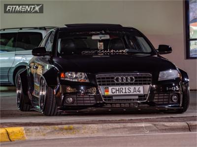 2011 Audi A4 - 19x12.5 -20mm - Rotiform SEA - Air Suspension - 275/30R19