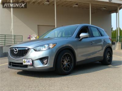 2014 Mazda CX-5 - 19x9 35mm - XXR 530d - Lowering Springs - 235/50R19