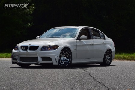 2006 BMW 325 - 19x8.5 35mm - Radi8 R8cm9 - Coilovers - 235/35R19