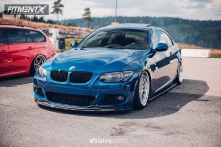 2010 BMW 325 - 19x8.5 20mm - Ronal Hartge Design E - Coilovers - 215/35R19