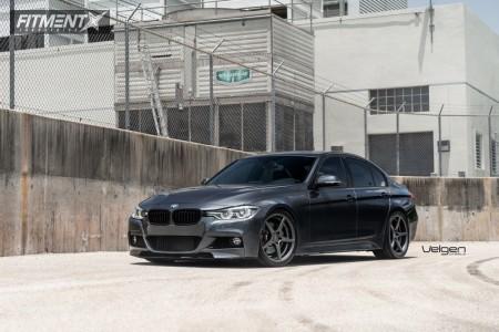 2016 BMW 340i - 19x8.5 33mm - Velgen Classic5 - Lowering Springs - 255/35R19