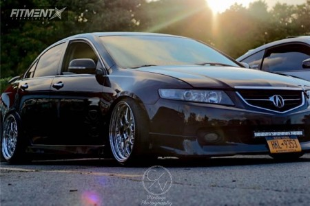 2005 Acura TSX - 18x9.5 22mm - Aodhan Ds01 - Coilovers - 215/35R18