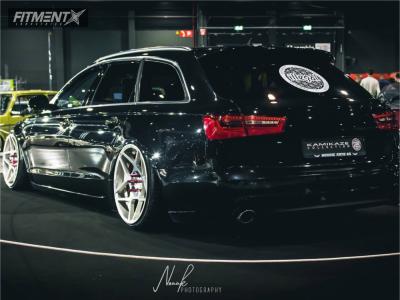 2015 Audi A6 - 20x10.5 35mm - 3SDM 0.08 - Air Suspension - 245/30R20