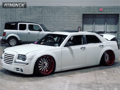 2006 Chrysler 300 - 22x11.5 0mm - Kartier Forged  - Air Suspension - 295/25R22