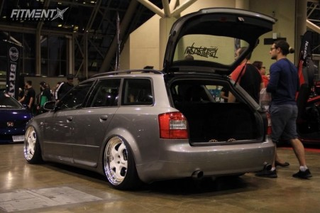 2003 Audi A4 Quattro - 19x9 31mm - Work Meister S1 3p - Air Suspension - 225/35R19