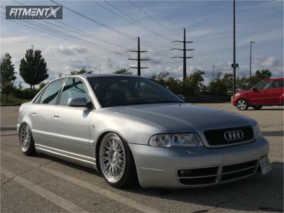 2000 Audi S4 - 18x8.5 45mm - VIP Modular Vrc110 - Air Suspension - 215/40R18