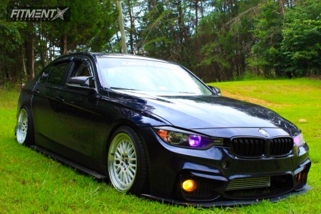 2013 BMW 320i - 18x9.5 35mm - Varrstoen Es7 - Coilovers - 245/35R18