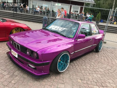 1987 BMW 320i - 17x11.5 0mm - Work VS XX - Coilovers - 245/35R17