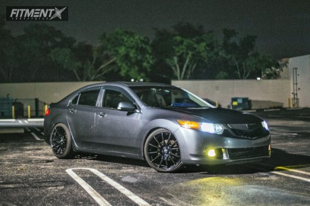 2009 Acura TSX - 20x9.5 35mm - MRR Gf6 - Coilovers - 255/35R20
