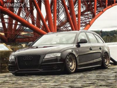 2008 Audi A4 - 20x10 35mm - Rotiform Ccv - Air Suspension - 245/35R20