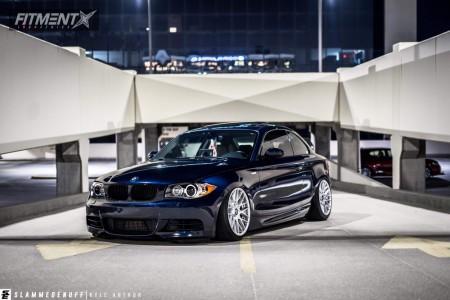 2009 BMW 135i - 18x9.5 35mm - Rotiform Rse - Air Suspension - 215/45R18