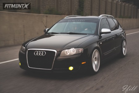 2007 Audi A4 Quattro - 18x8.5 35mm - Rotiform Ind-t - Coilovers - 225/40R18