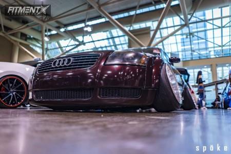 2002 Audi TT Quattro - 18x10.5 -70mm - BBS Rs - Air Suspension - 225/40R18