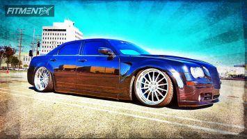 2006 Chrysler 300 - 22x9 -12.7mm - Custom Custom One-Off Wheels - Lowered Adj Coil Overs - 255/30R22
