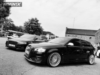 2010 Audi S3 - 19x8.5 45mm - Rotiform Ind-t - Coilovers - 215/35R19