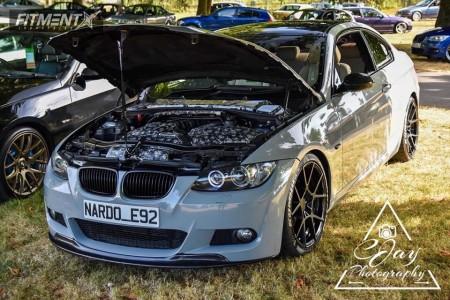 2007 BMW 325i - 19x8.5 35mm - Rotiform Kps - Lowering Springs - 225/35R19