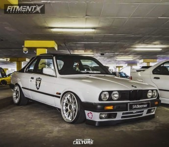 1991 BMW 318i - 17x8.5 20mm - BBS Rc03 - Coilovers - 185/35R17