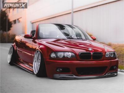 2001 BMW 330Ci - 18x10 20mm -  Custom 3P Styling32 - Air Suspension - 215/35R18