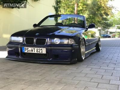 1997 BMW 320i - 17x10 7mm - Ac Schnitzer Typ 1 RS - Air Suspension - 205/40R17