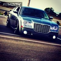 2006 Chrysler 300 - 22x10 13mm - Factory Reproduction Viper - Lowered Adj Coil Overs - 245/30R22