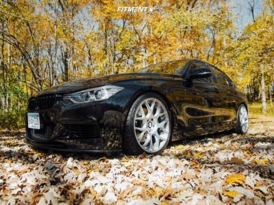 2014 BMW 335i xDrive - 19x8.5 35mm - Avant Garde M590 - Lowering Springs - 245/35R19
