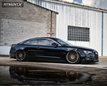2014 Audi A5 Quattro - 20x10.5 27mm - Rotiform Ind-t - Air Suspension - 275/30R20