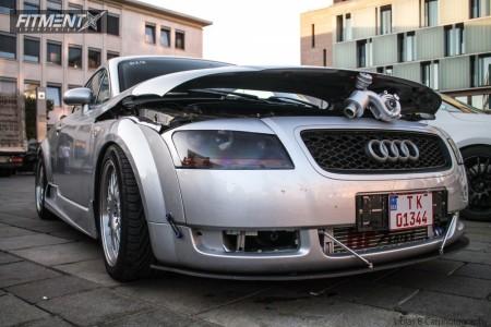 2003 Audi TT - 17x8 35mm - XXR 531 - Coilovers - 205/40R17