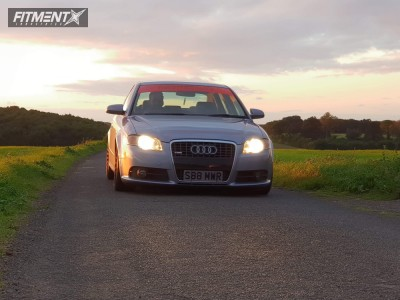 2006 Audi A4 - 19x8.5 45mm - Rotiform Ind-t - Coilovers - 215/30R19