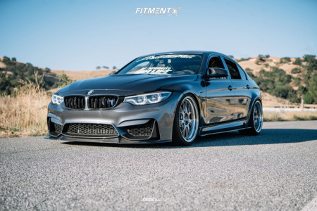 2018 BMW M3 - 20x9.5 23mm - BBS Lmr - Air Suspension - 265/30R20
