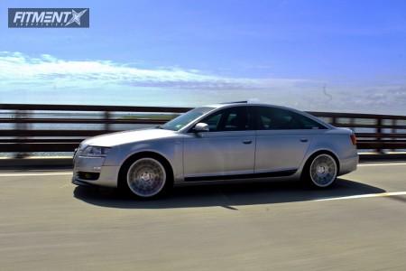 2005 Audi A6 Quattro - 19x10 35mm - Rotiform Blq - Coilovers - 235/40R19
