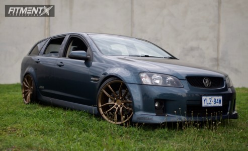 2008 Holden Commodore - 20x10 35mm - Koya Sf-011 - Coilovers - 245/35R20