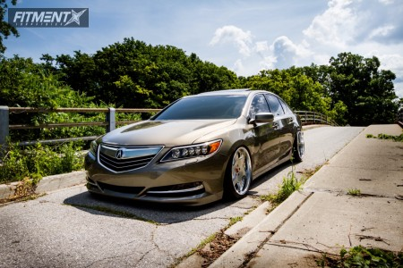 2015 Acura RLX - 20x10.5 13mm - Weds Kranze Bazreia - Coilovers - 225/35R20