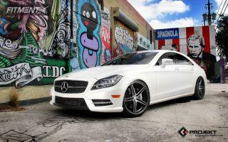 2012 Mercedes-Benz CLS550 - 20x9 22mm - K3 Projekt F2 - Lowered Adj Coil Overs - 255/35R20
