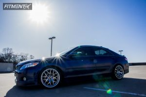 2011 Toyota Camry - 18x8 45mm - Lexus GS430 - Lowered on Springs - 225/45R18
