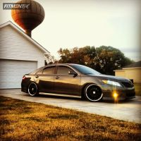 2011 Toyota Camry - 19x8.5 35mm - MRR GT1 - Lowered Adj Coil Overs - 225/35R19