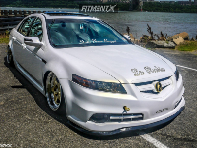 2008 Acura TL - 18x10.5 15mm - All-star Boss - Coilovers - 215/40R18