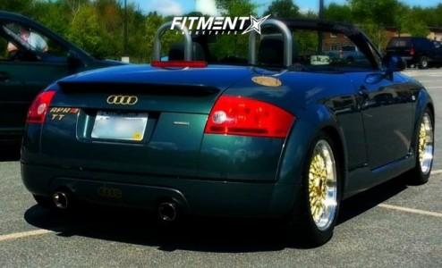 2001 Audi TT Quattro - 17x8 40mm - Ruff R957 - Coilovers - 225/50R17