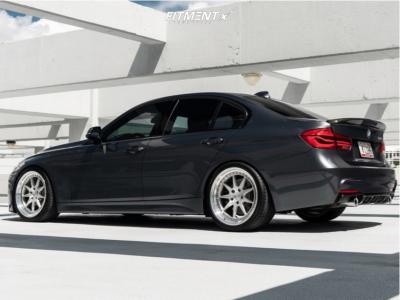 2016 BMW 340i - 19x9 30mm - Velgen SL-9 - Lowering Springs - 255/35R19
