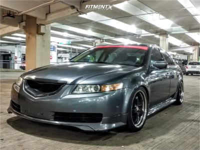 2006 Acura TL - 18x8 35mm - Work Meister S1R - Coilovers - 225/35R18