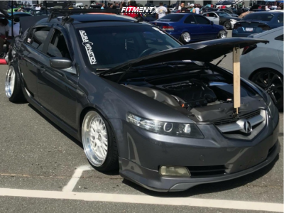 2006 Acura TL - 18x10 18mm - CCW Lm20 - Coilovers - 225/35R18