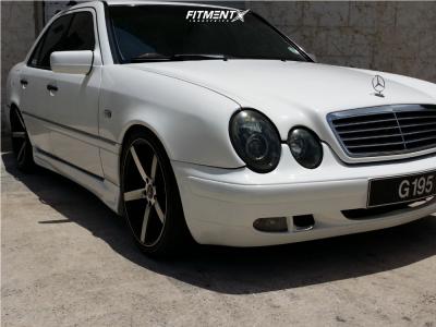 1996 Mercedes-Benz C220 - 18x8 35mm - JNC Jnc026 - Lowering Springs - 225/40R18