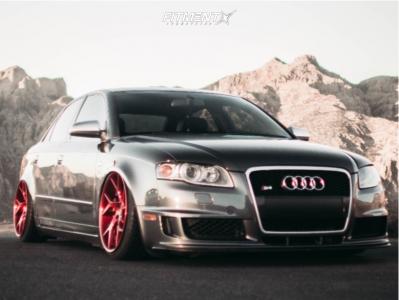 2007 Audi S4 - 19x9.5 30mm - SevenK Hydra 2-piece - Air Suspension - 225/35R19