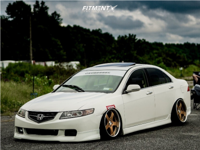 2005 Acura TSX - 18x9.5 41mm - Trafficstar Dtx - Coilovers - 215/35R18