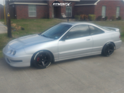 2000 Acura Integra - 15x8 20mm - MST Mt09 - Coilovers - 195/45R15