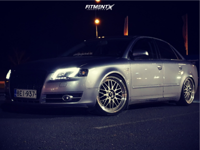 2006 Audi A4 - 19x8.5 45mm - Japan Racing Jr23 - Coilovers - 215/35R19