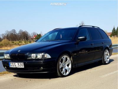 2001 BMW 530i - 19x9 25mm - BMW Style 63 - Stock Suspension - 245/40R19