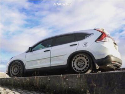 2012 Honda CR-V - 20x8.5 35mm - Rotiform Ccv - Coilovers - 225/35R20