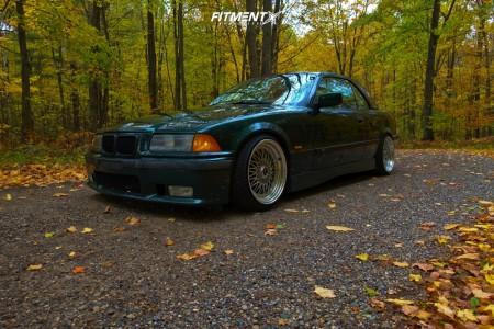 1999 BMW 328i - 17x8.5 15mm - JNC Jnc004 - Coilovers - 205/40R17